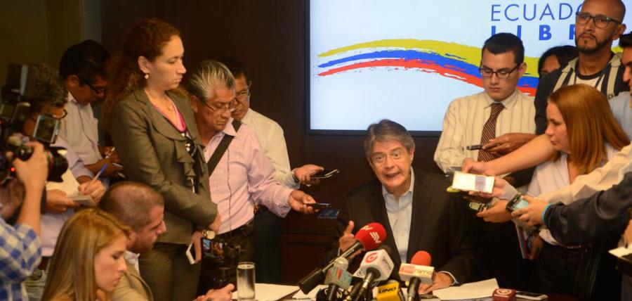 Lasso ofreció plan económico de CREO a Moreno y le dio 8 recomendaciones