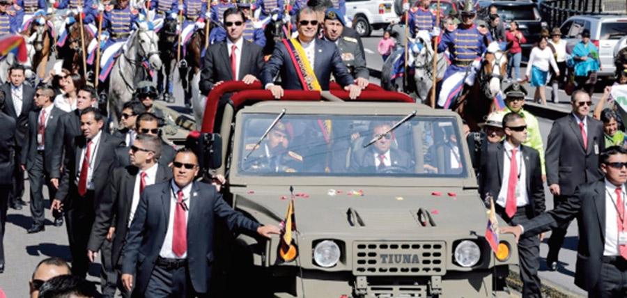 El Ecuador en crisis paga por los guardaespaldas de Correa en Bélgica