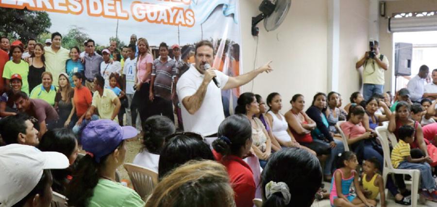 CREO continúa su trabajo territorial en el Guasmo de Guayaquil