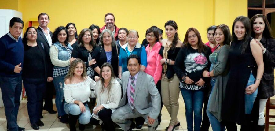 Mujeres CREO en Baños presente en el fortalecimiento territorial de Tungurahua