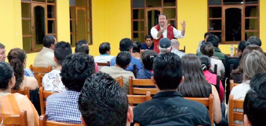 En Tungurahua continuó la gira cantonal de fortalecimiento de CREO en el Ecuador