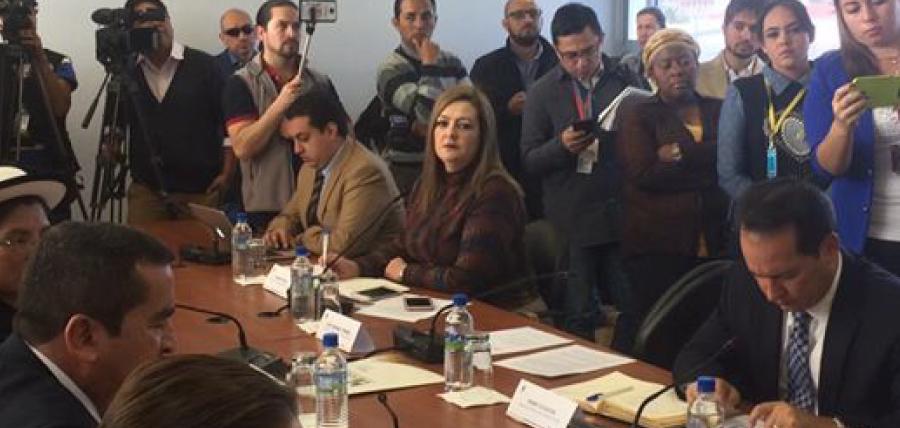 Asambleísta Cuesta critica vacancia legislativa en medio de la crisis política del país