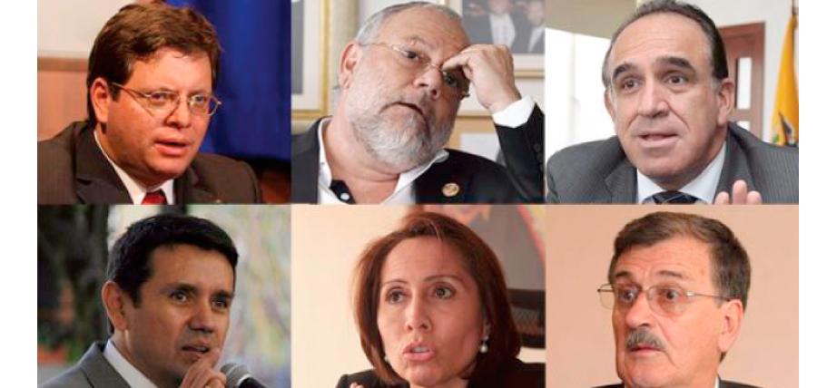 6 ex Ministros de la década robada investigados y en la mira de las autoridades de control