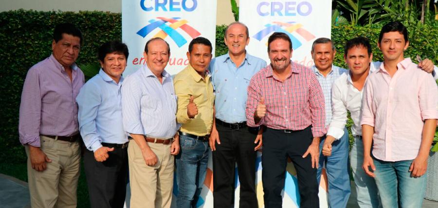 CREO continúa el trabajo  territorial en taller con Presidentes de la Costa y Región Insular