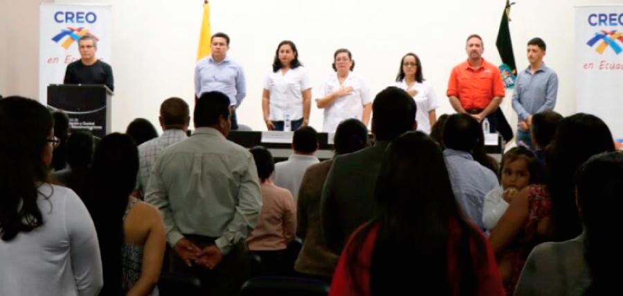 En Santa Cruz CREO fortalece su estructura con la posesión de directivas territoriales