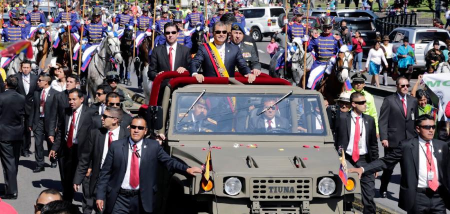El Gobierno no sabe cuánto le cuesta a los ecuatorianos la comitiva de guardaespaldas de Correa en Bélgica