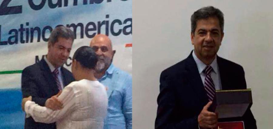 """Prefecto de CREO recibe el """"Premio al Buen Gobierno"""" de la Organización Democrática Mundial"""