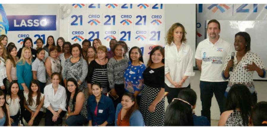 Fortalecer la presencia de la mujer en la política es un objetivo clave en la capacitación de CREO