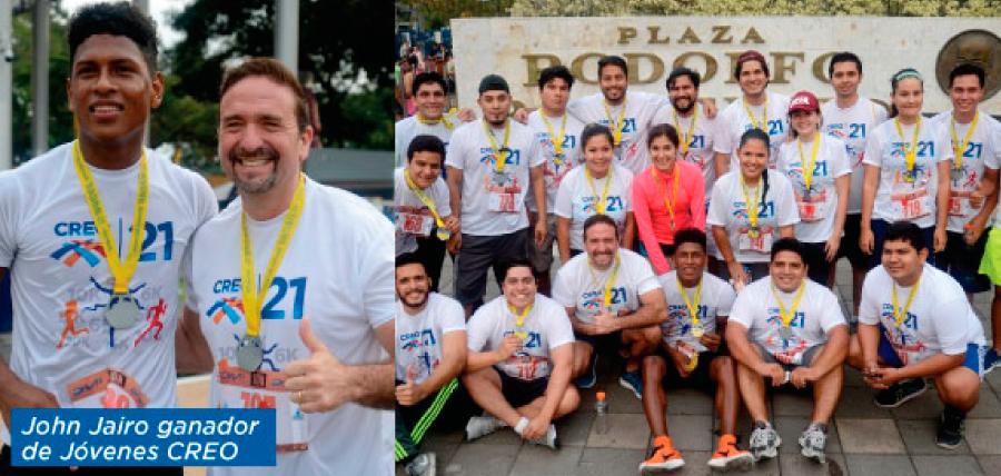CREO agradece a su Frente de Jóvenes en Guayas por su participación en la Maratón de Guayaquil