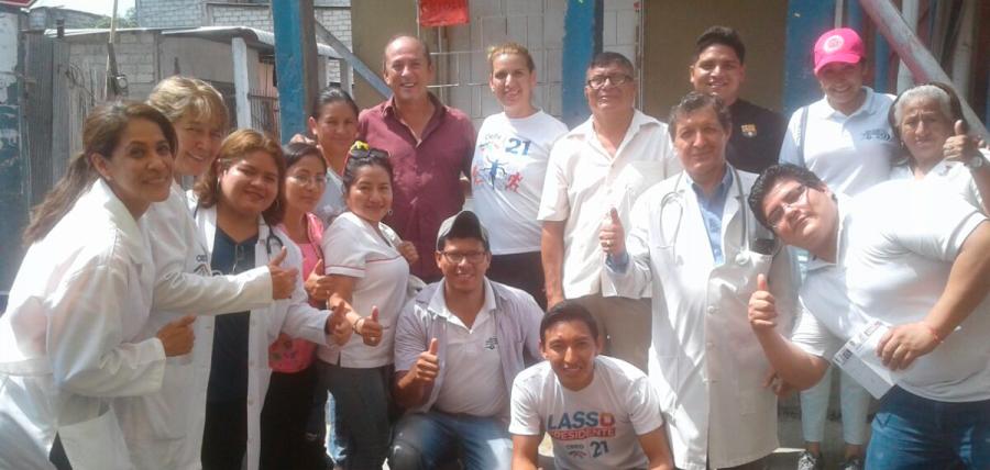 CREO fortalece su frente de salud con brigadas médicas en Bastión Popular de Guayaquil