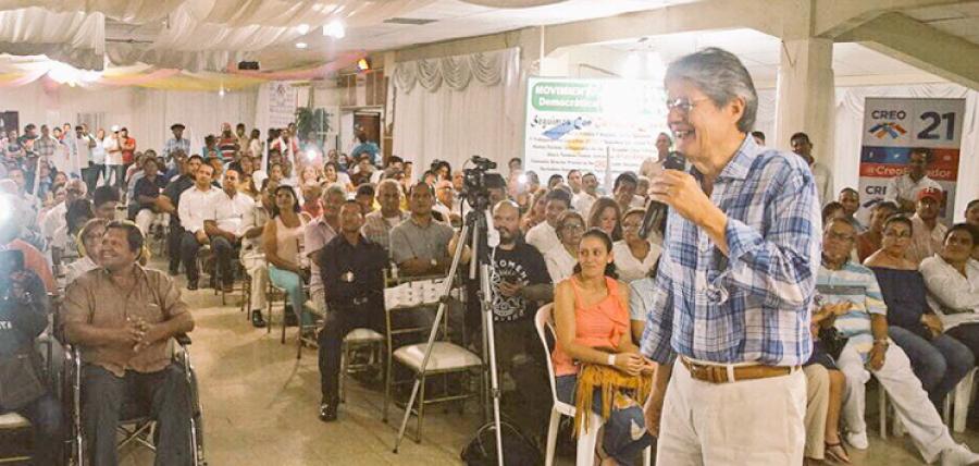 En Los Ríos Guiilermo Lasso continúa con el fortalecimiento de la estructura territorial de CREO