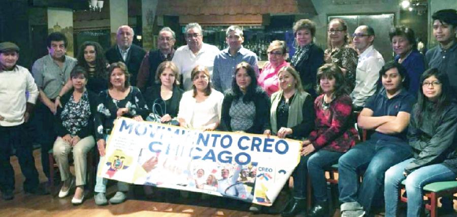 CREO EEUU-Canadá cumple jornada de fortalecimiento político en la ciudad de Chicago
