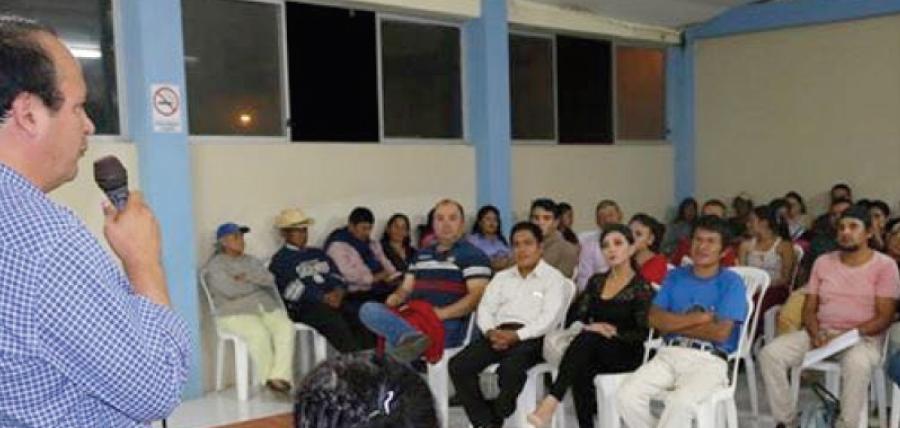 CREO Zamora Chinchipe fortalece su estructura territorial y posesiona a sus directivas parroquiales