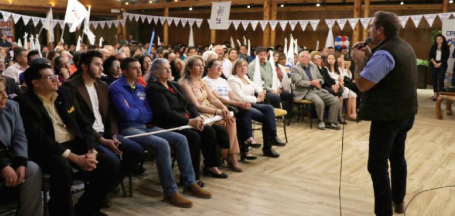 CREO posesiona directivas en Azuay y fortalece su estructura territorial
