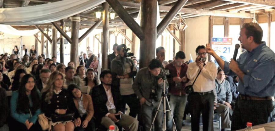 En Chimborazo CREO fortalece su estructura y posesiona directivas territoriales