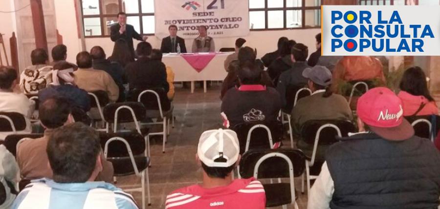 Imbabura arranca su proceso de capacitación ciudadana con miras a la Consulta Popular