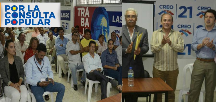 CREO continúa su capacitación nacional frente a la Consulta Popular