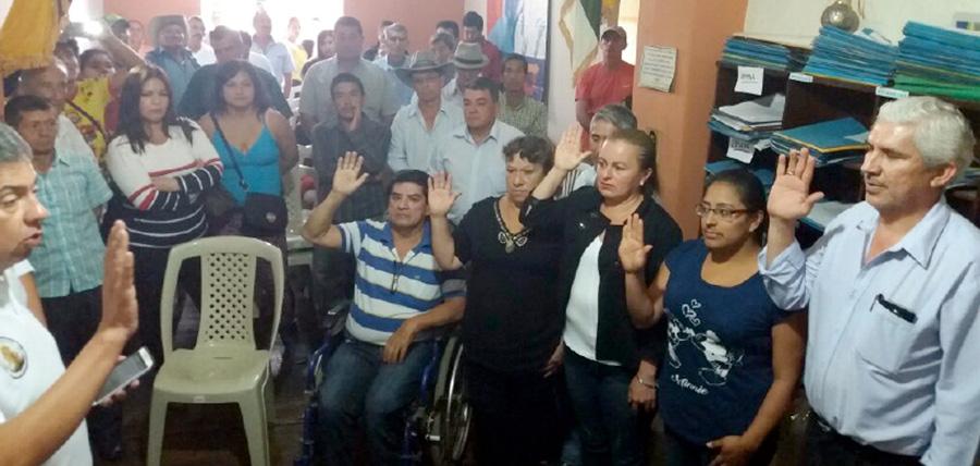 CREO posesiona directivas cantonales en Chaguarpamba y Puyango fortaleciendo la estructura de Loja