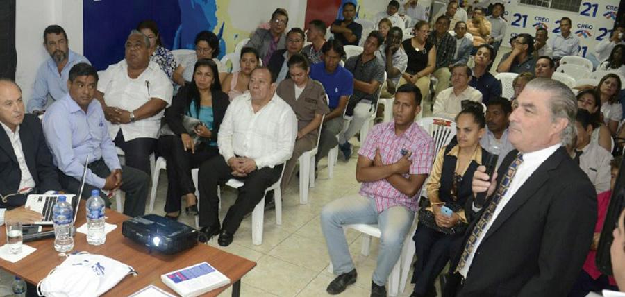 CREO Guayas continúa su proceso de capacitación política para fortalecer su militancia