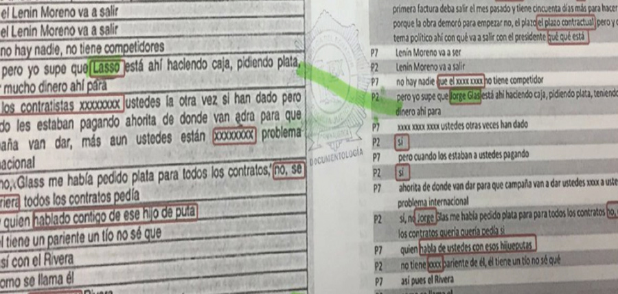 Perito que intentó involucrar a Guillermo Lasso en la corrupción de Odebretch y Glas saldrá libre