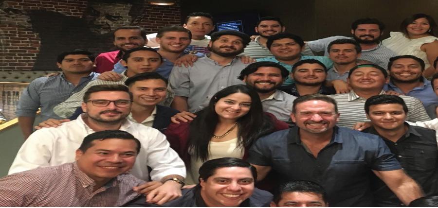 Jóvenes CREO presentes en Castigo Divino Guayaco