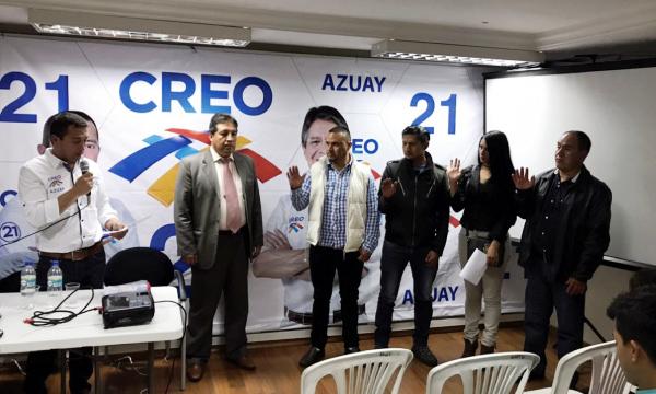 El trabajo de la directiva provincial de Azuay continúa
