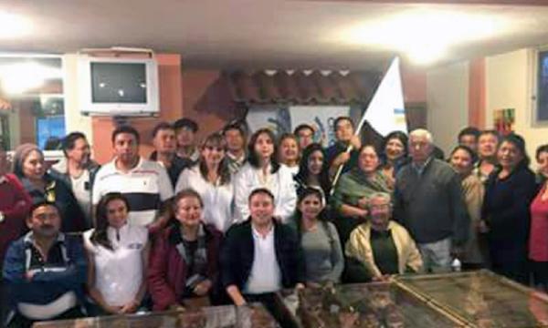 CREO fortalece su estructura parroquial en Pichincha y posesiona su directiva territorial de Calacalí