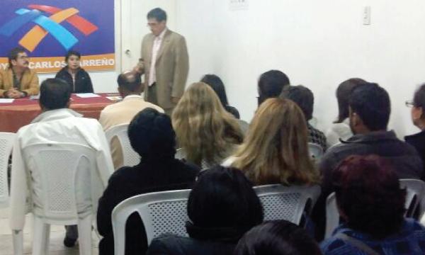 CREO Chimborazo se une al proceso de capacitación en favor de la Consulta Popular