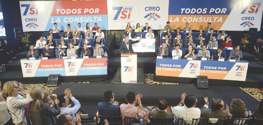 En Quito Lasso ratifica su respaldo y anuncia campaña en favor de la Consulta Popular