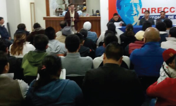 Desde el Cantón Guano continúa la movilización y capacitación ciudadana frente a la Consulta Popular