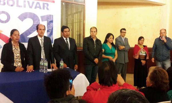 CREO Bolívar posesiona a su directiva de Guaranda dentro del proceso de fortalecimiento territorial