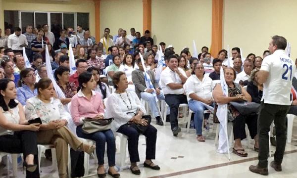 CREO continúa su recorrido nacional en Manabí para fortalecer su estructura territorial