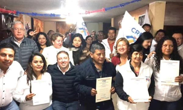 CREO Pichincha trabaja en el fortalecimiento de su estructura parroquial