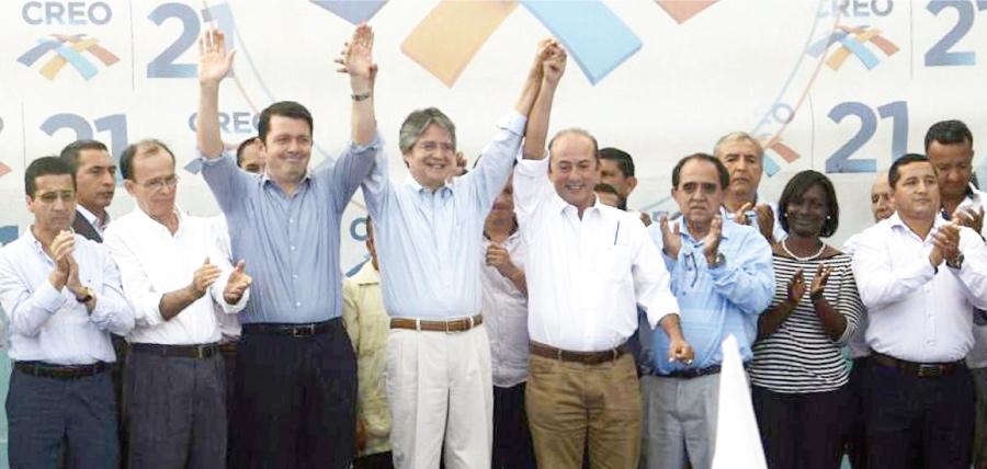 CREO posesiona sus presidentes cantonales y fortalece su estructura en Guayas