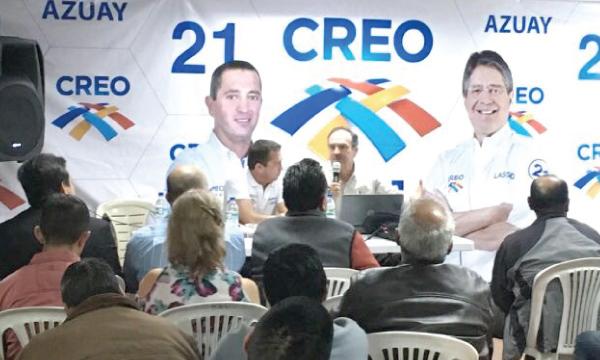 CREO Azuay continúa con el ciclo de seminarios y conversatorios sobre el contenido de la Consulta Popular