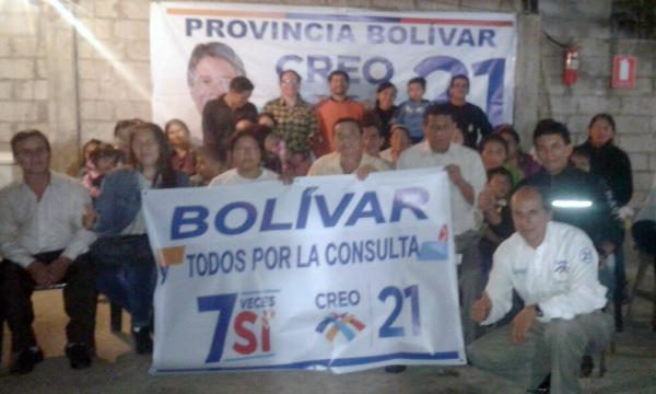 Desde Balsapamba continúa el fortalecimiento territorial cantonal de Bolívar