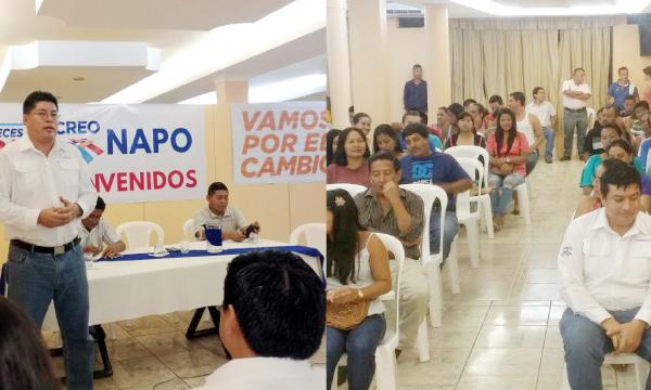 CREO Napo fortalece la campaña de educación y difusión por la Consulta Popular