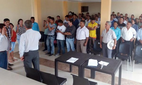 Desde la Parroquia Nueva Fátima en Loja continúa el fortalecimiento territorial de CREO frente al 2018