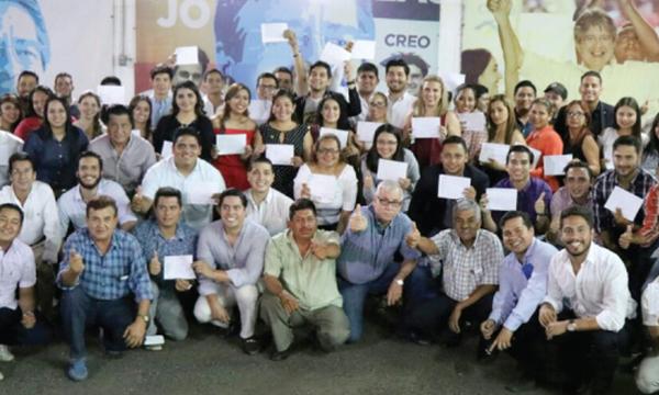 Jóvenes CREO Guayas fortalecen la estructura territorial y se preparan para el 2018