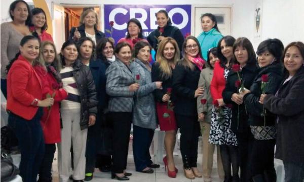 Directiva de Mujeres CREO en Riobamba alista su acción política frente al 2018 y la Consulta Popular