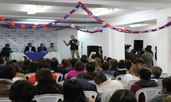 En Quito Colonial se inaugura una nueva central de trabajo con miras a la Consulta Popular y el 2019