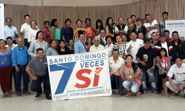 CREO Santo Domingo continúa con su fortalecimiento territorial en camino a la consulta del 2018