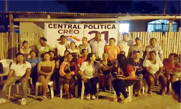 CREO Esmeraldas impulsa el trabajo territorial y coordina acciones desde Tonsupa