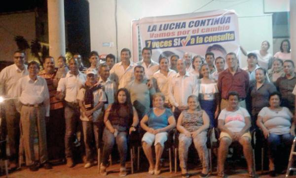 CREO El Triunfo planifica su trabajo territorial para impulsar la Consulta Popular en Guayas