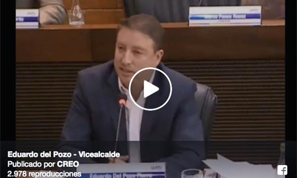Eduardo del Pozo evidencia una vez más la falta de interés de la Alcaldía en solucionar la crisis de basura