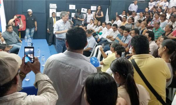 En Los Ríos Lasso continúa su recorrido nacional y campaña en favor del Sí en la Consulta Popular