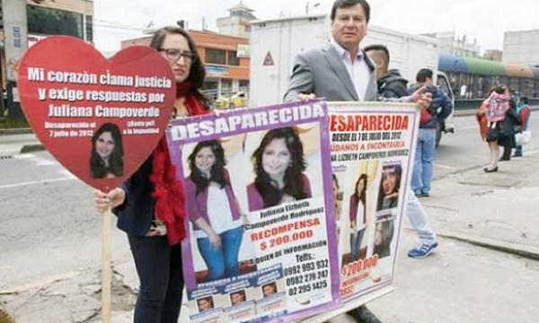 Asambleísta de CREO lucha por la justicia de las familias de hijos desaparecidos