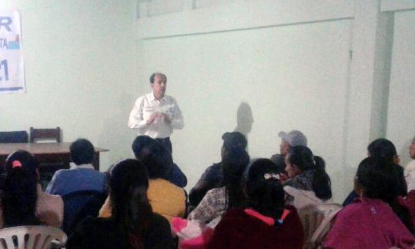 CREO Bolívar continúa con su trabajo de difusión sobre las 7 Preguntas de la Consulta Popular