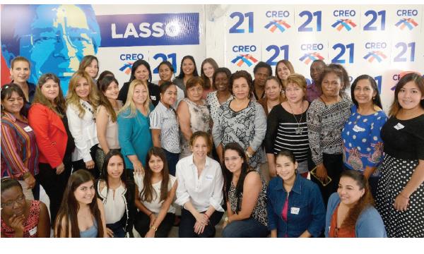 CREO participará en encuentro de Mujeres de los Partidos Latinoamericanos
