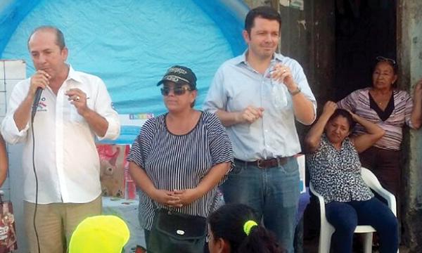 La directiva de CREO Guayas y Guayaquil reforzó su campaña por la Consulta Popular